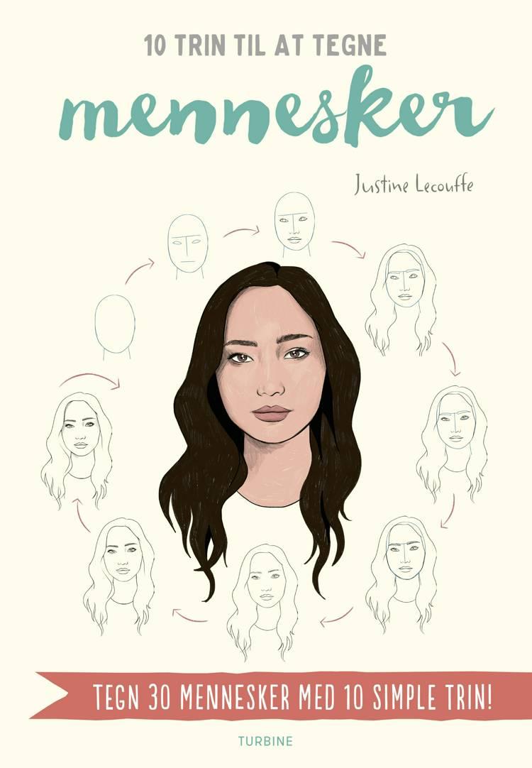 10 trin til at tegne mennesker af Justine Lecouffe