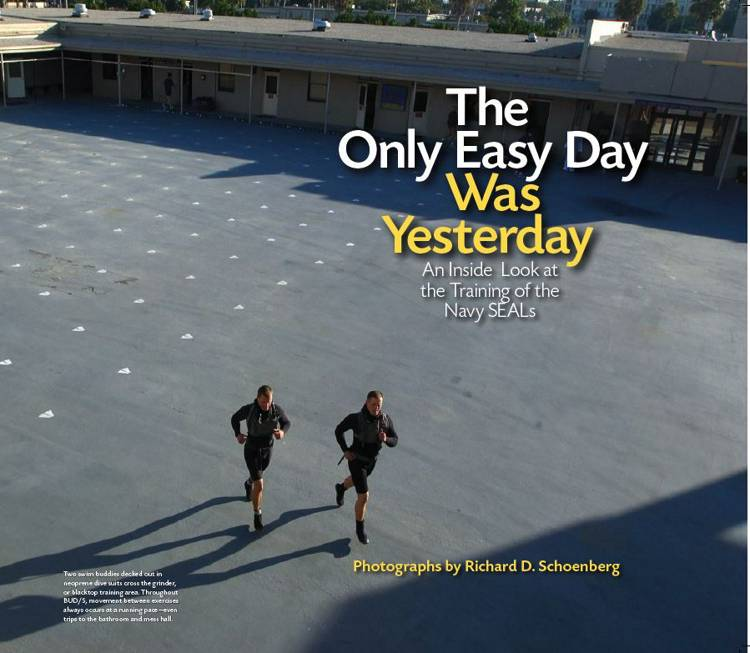 The Only Easy Day Was Yesterday af Richard D. Schoenberg