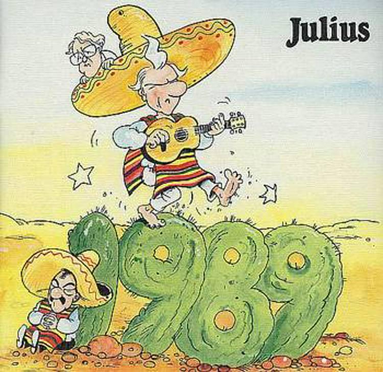Julius tegninger 1989 af Jens Julius Hansen