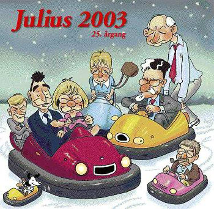 Julius tegninger 2003 af Jens Julius Hansen