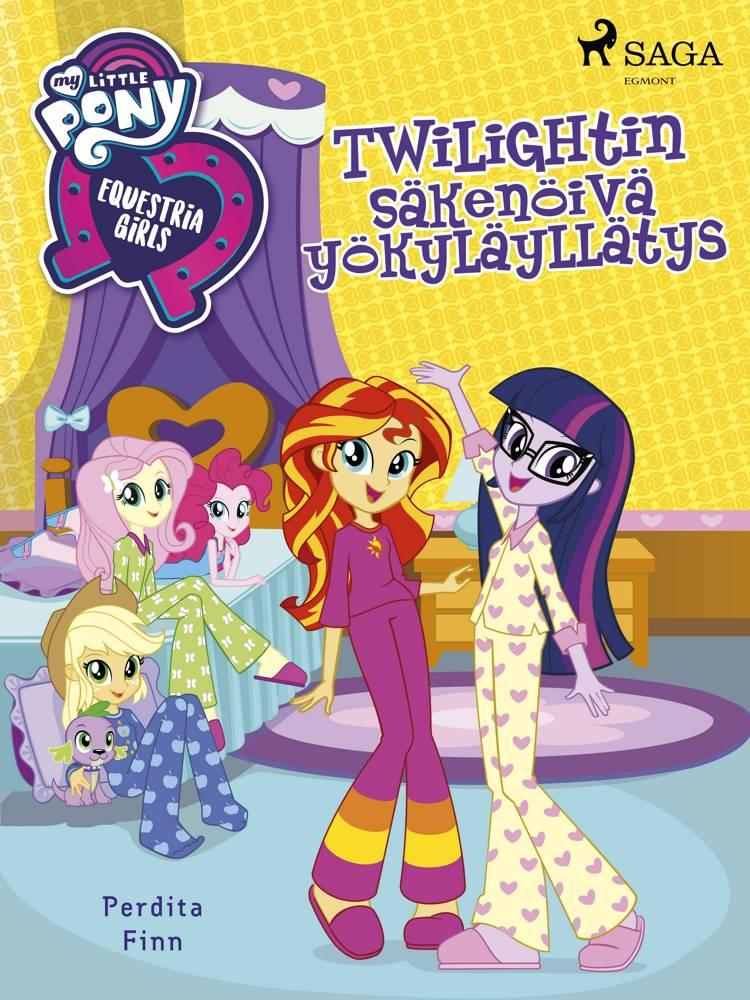 My Little Pony - Equestria Girls - Twilightin säkenöivä yökyläyllätys af Perdita Finn