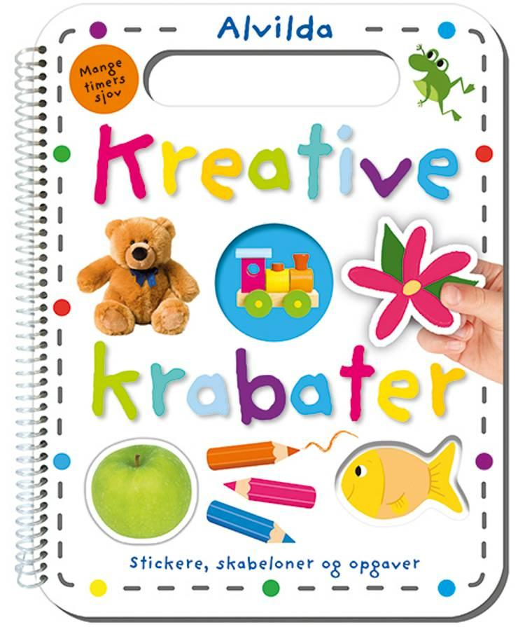 Kreative krabater - Stickere, skabeloner og opgaver