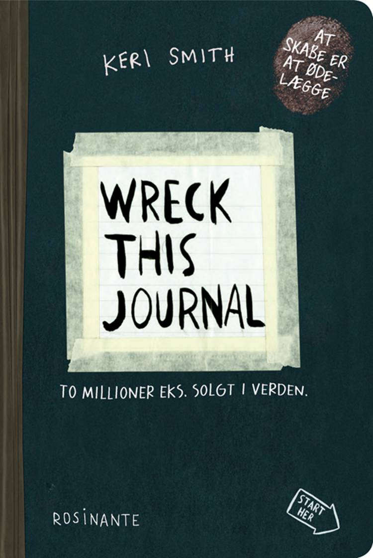 Wreck This Journal af Keri Smith