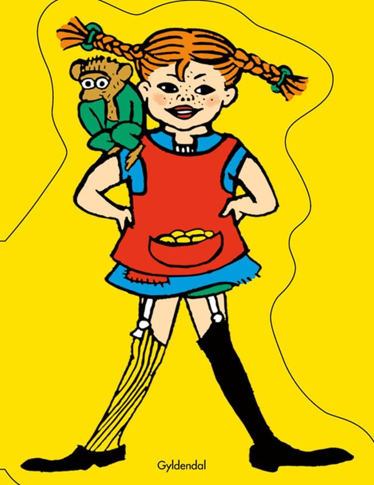 Pippi Langstrømpe. Figurbog af Astrid Lindgren