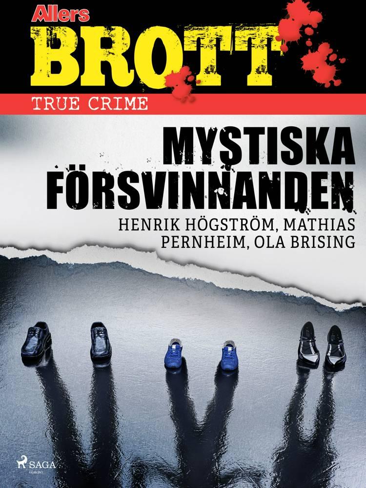 Mystiska försvinnanden af Henrik Högström, Mathias Pernheim og Ola Brising