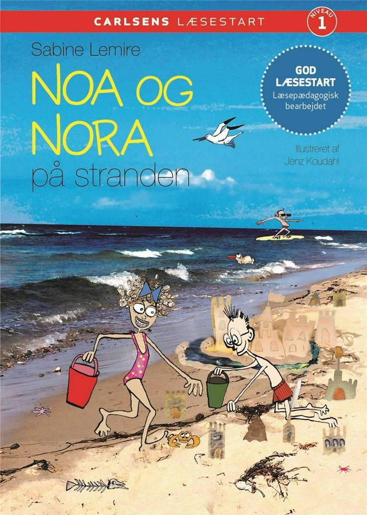 Carlsens læsestart - Noa og Nora på stranden af Sabine Lemire