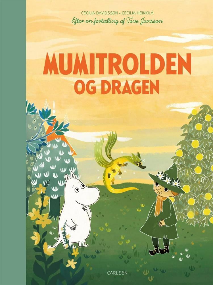 Mumitrolden og dragen af Tove Jansson
