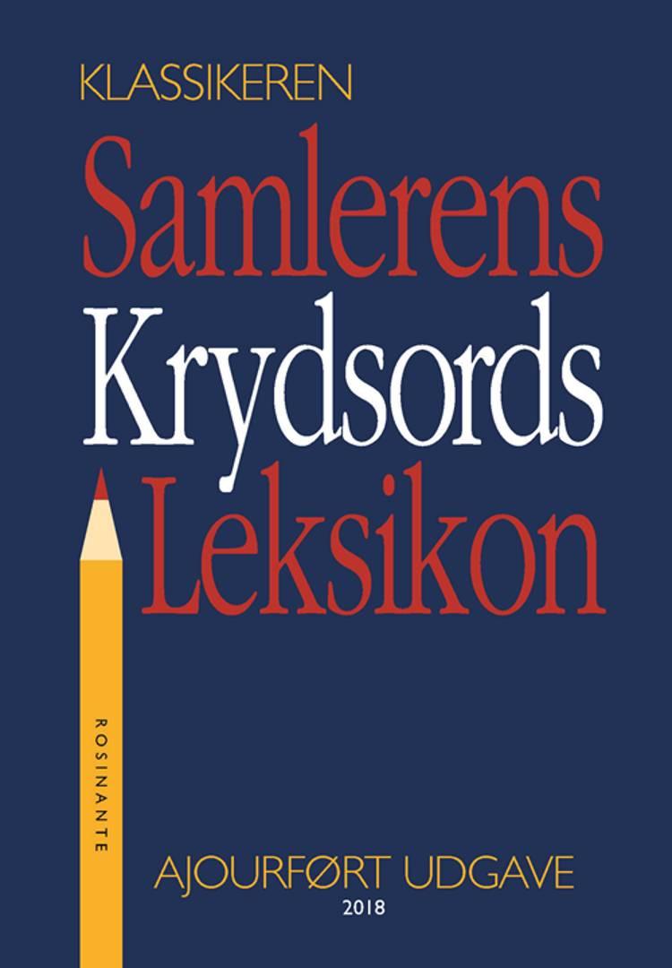 Samlerens krydsords leksikon af Jørgen Lethan og Knud H. Ditlevsen
