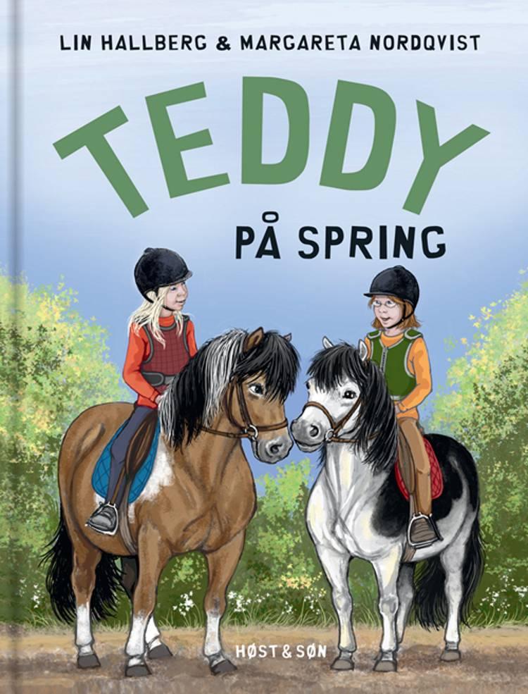 Teddy på spring af Lin Hallberg