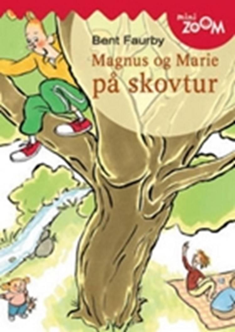 Magnus og marie på skovtur af Bent Faurby
