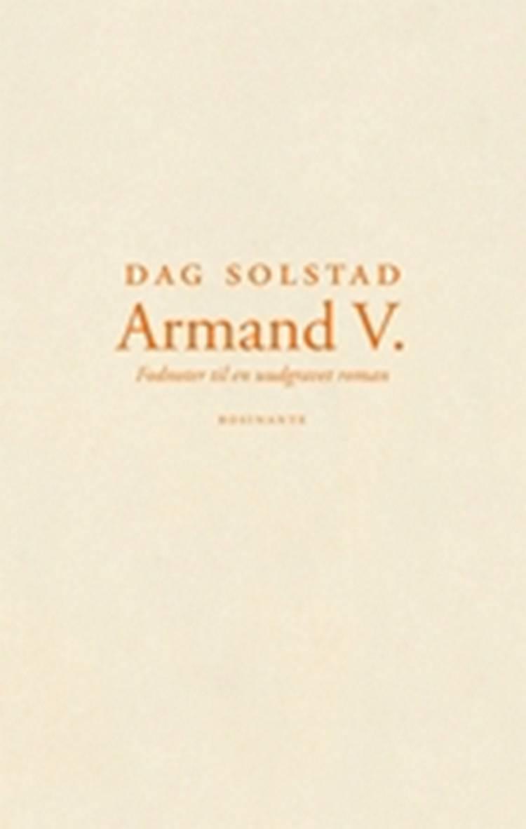 Armand V. af Dag Solstad