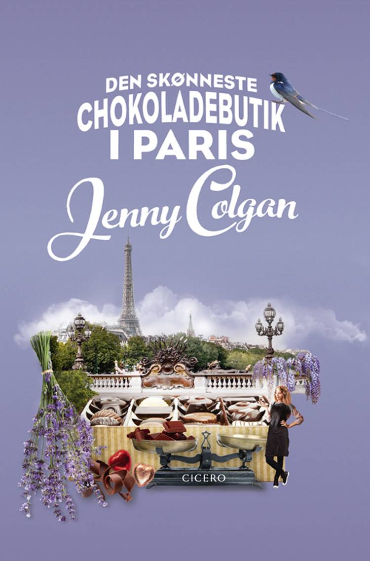 Den skønneste chokoladebutik i Paris af Jenny Colgan