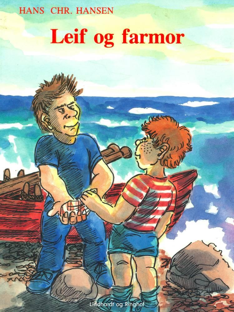 Leif og farmor af Hans Christian Hansen