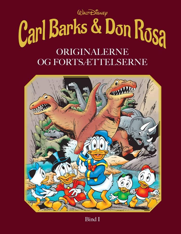 Carl Barks & Don Rosa Bind I af Walt Disney
