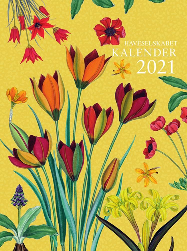 Haveselskabet Kalender 2021 af Gyldendal