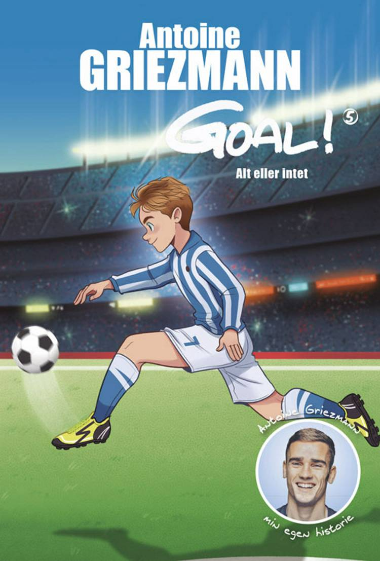 Goal 5 af Antoine Griezmann