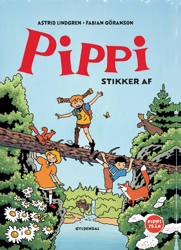 Pippi stikker af af Astrid Lindgren og Fabian Göransson