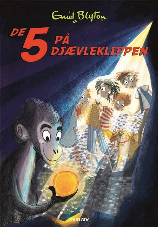 De 5 på Djævleklippen af Enid Blyton
