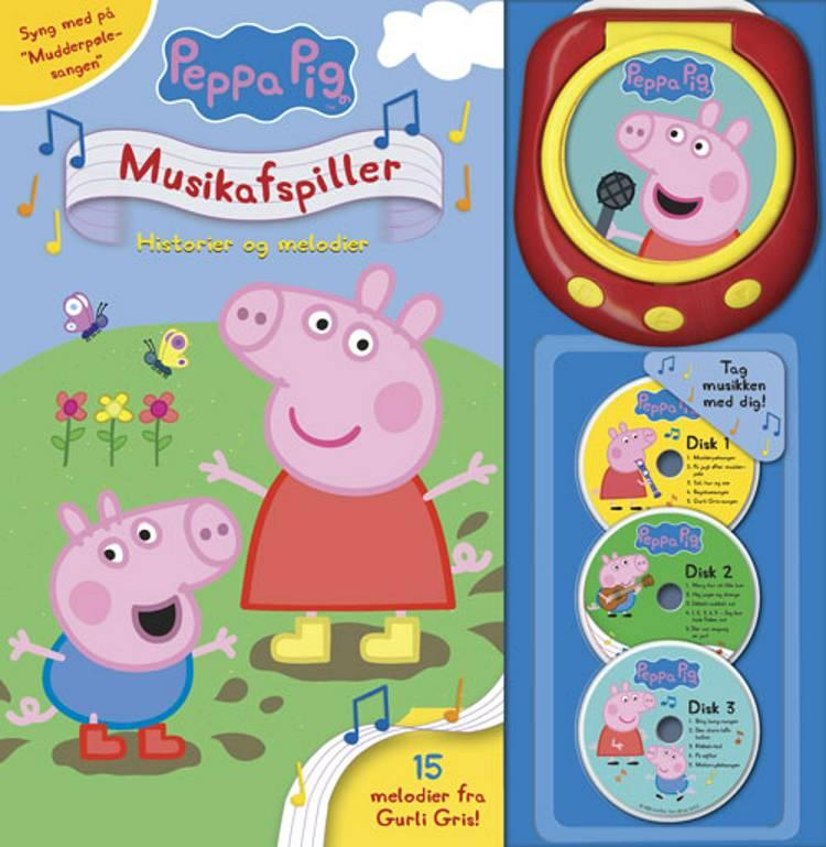 Peppa Pig - Gurli Gris' musikafspiller - Historier og melodier (med 15 sange)