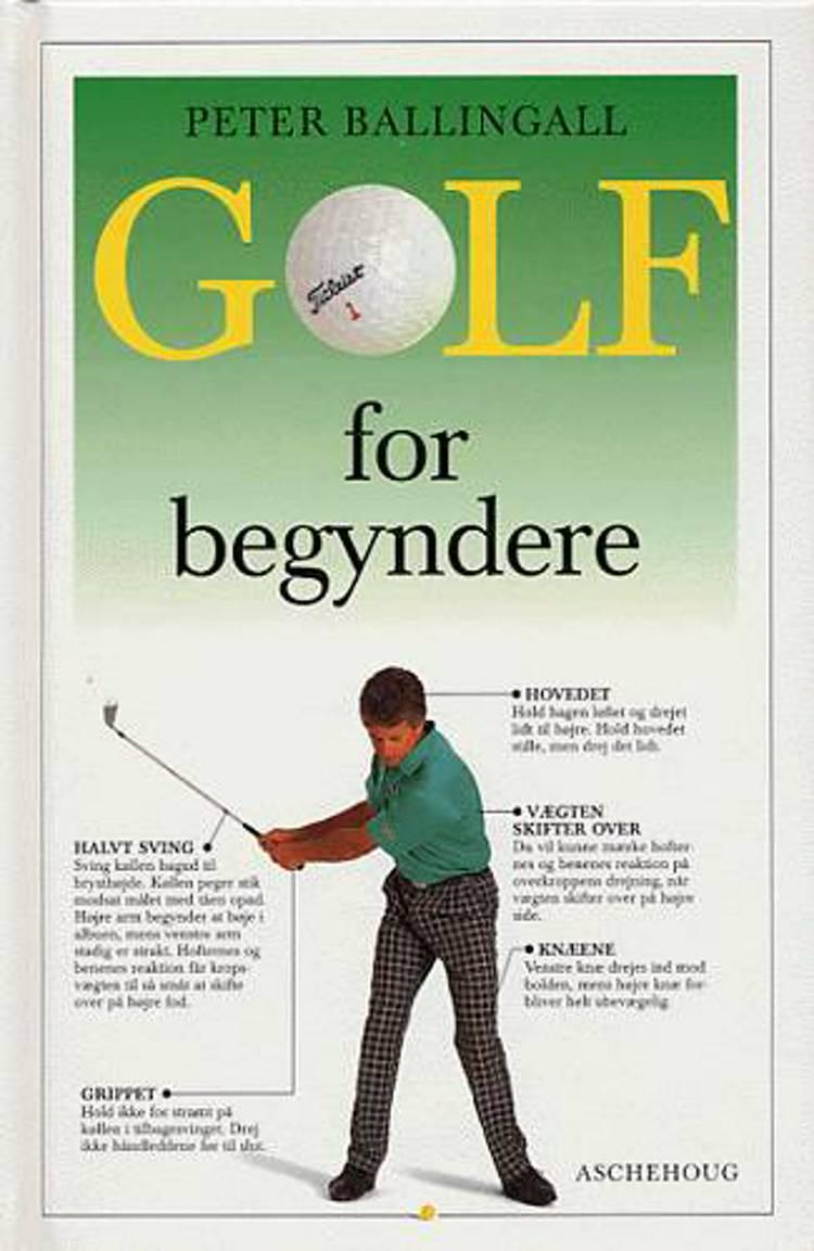 Golf for begyndere af Peter Ballingall
