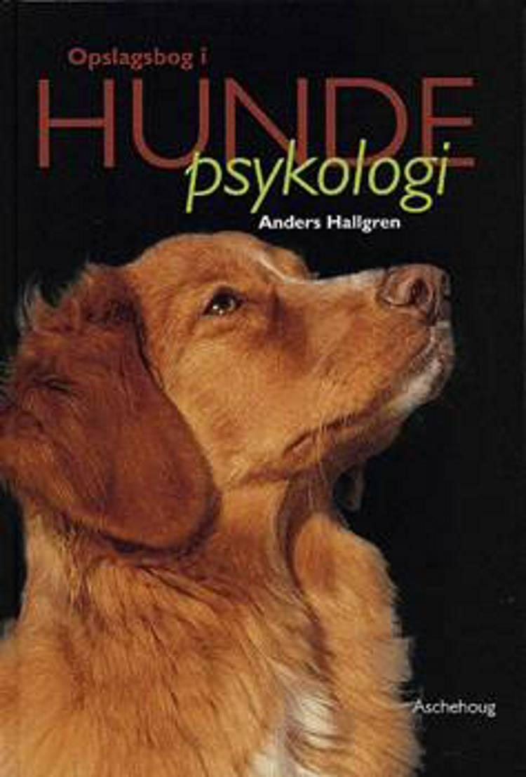 Opslagsbog i hundepsykologi af Anders Hallgren