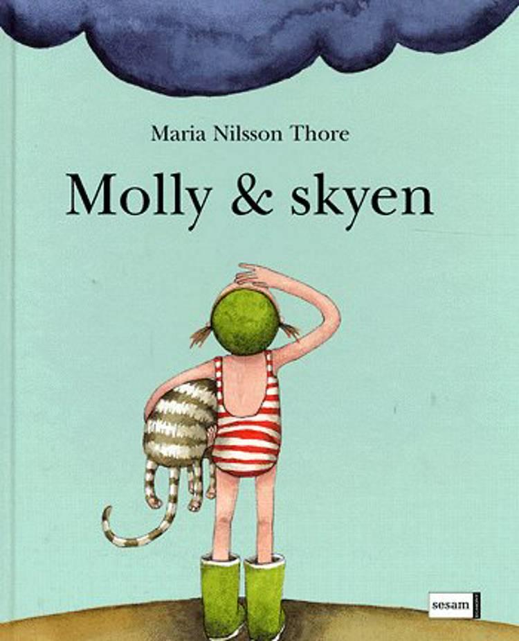 Molly & skyen af Maria Nilsson Thore