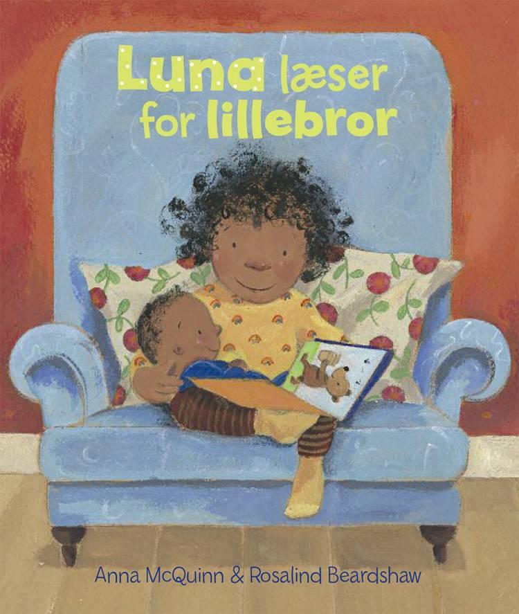 Luna læser for lillebror af Anna McQuinn