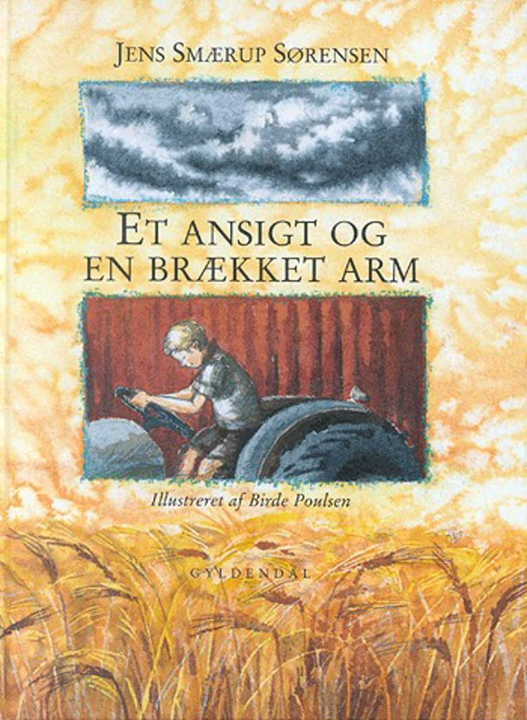 Et ansigt og en brækket arm af Jens Smærup Sørensen