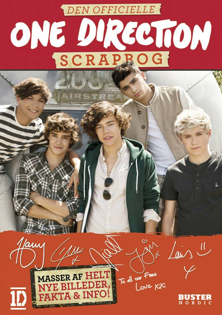 Den officielle One Direction scrapbog