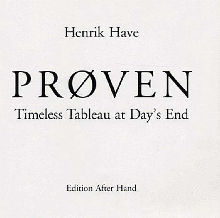 Prøven af Henrik Have
