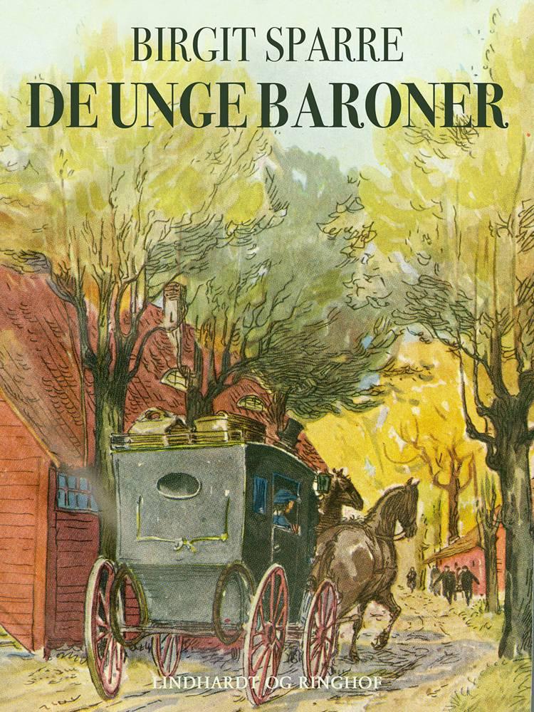 De unge baroner Glimringe 1860-1865 af Birgit Sparre