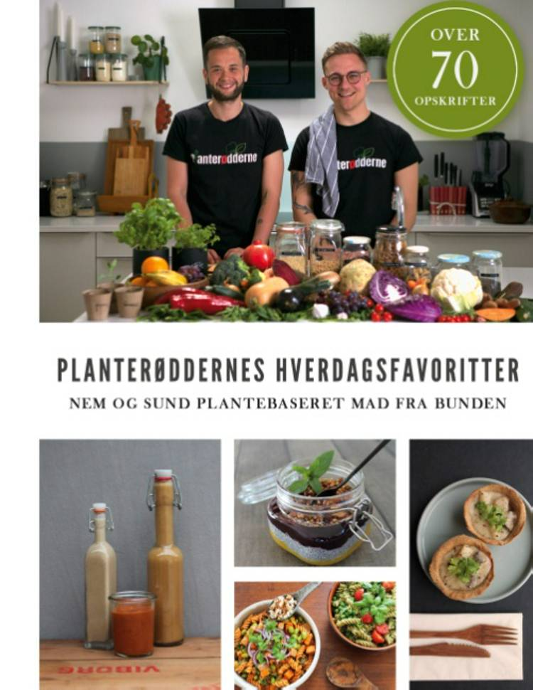 Planterøddernes Hverdagsfavoritter af Dennis Krogsdal Madsen og Stig Ladefoged Nielsen