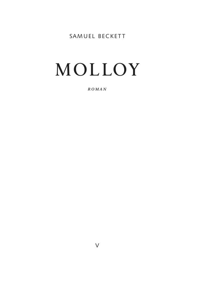 Molloy af Samuel Beckett