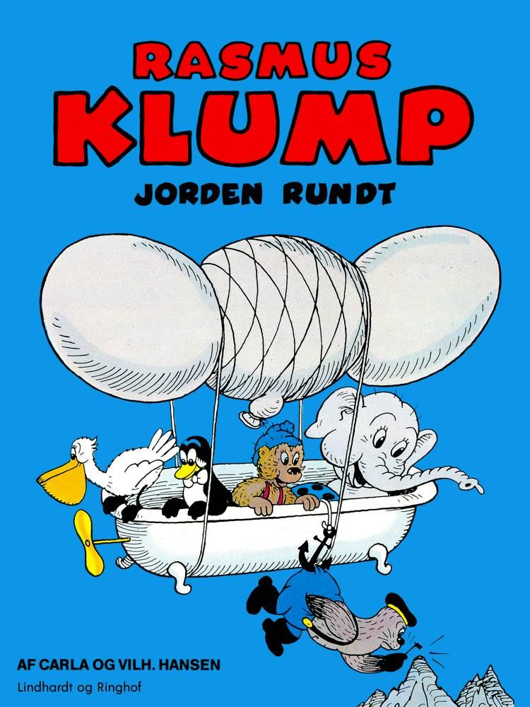 Rasmus Klump - Jorden rundt af Vilhelm Hansen og Carla Hansen