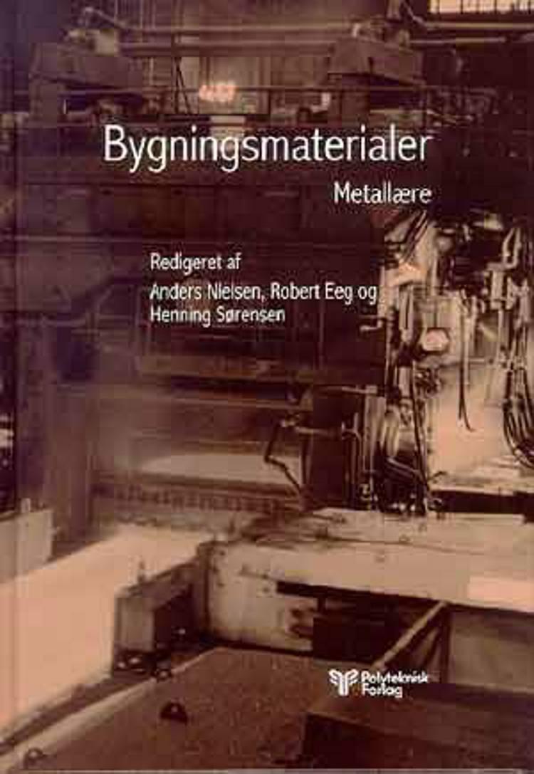 Bygningsmaterialer af Anders Nielsen og Finn R. Gottfredsen