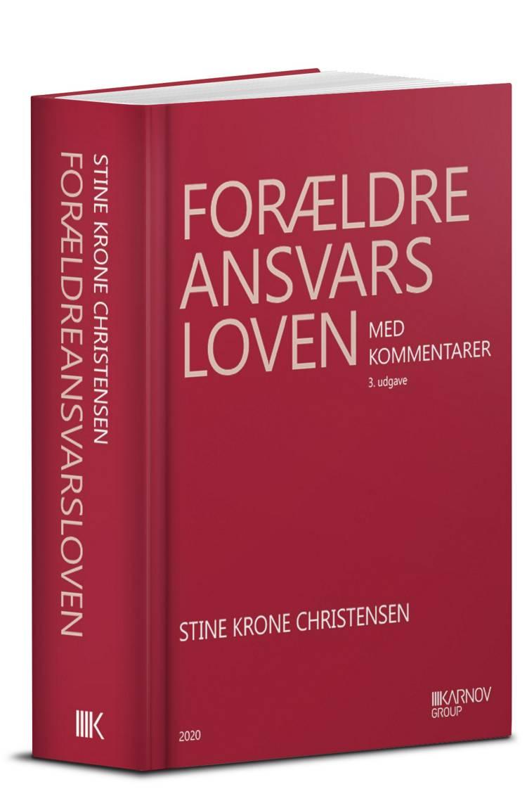 Forældreansvarsloven med kommentarer af Stine Krone Christensen