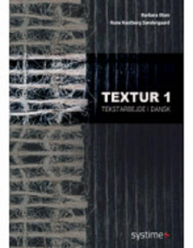 Textur af Barbara Illum og Rune Kastberg Søndergaard