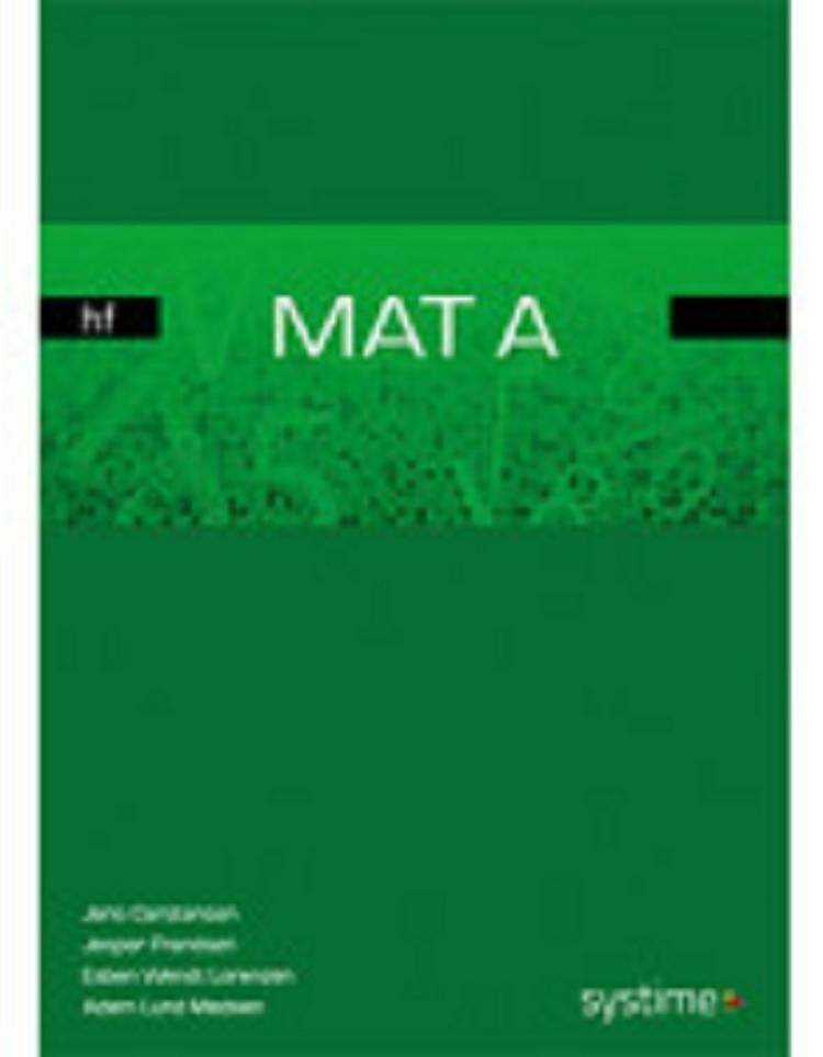 MAT A hf af Jesper Frandsen, Jens Carstensen og Esben Wendt Lorenzen m.fl.