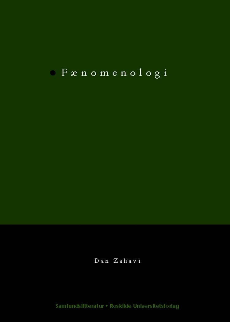 Fænomenologi af Dan Zahavi
