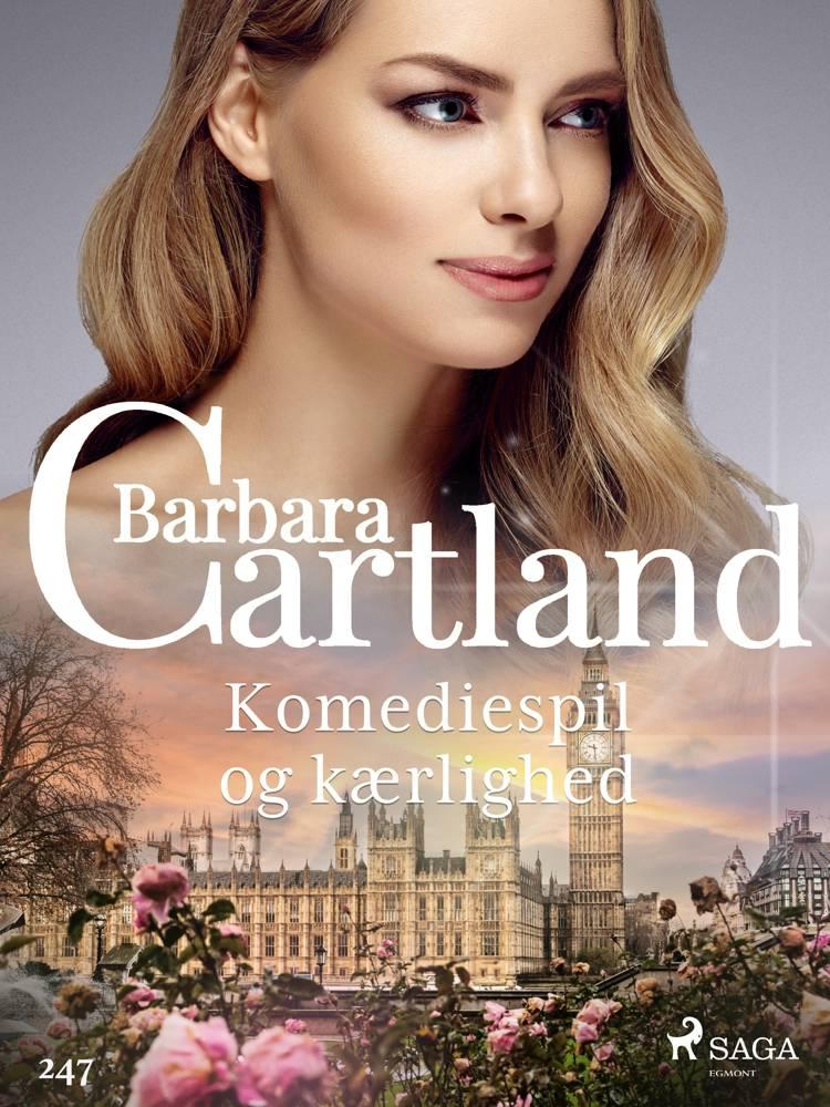 Komediespil og kærlighed af Barbara Cartland