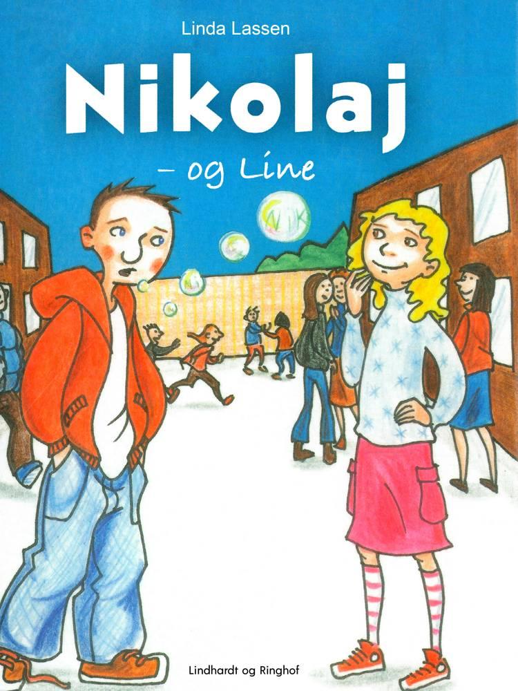 Nikolaj og Line af Linda Lassen