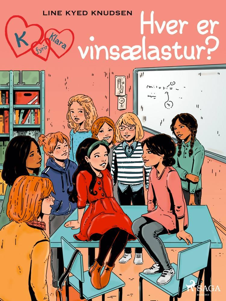 K fyrir Klara 20 - Hver er vinsælastur? af Line Kyed Knudsen