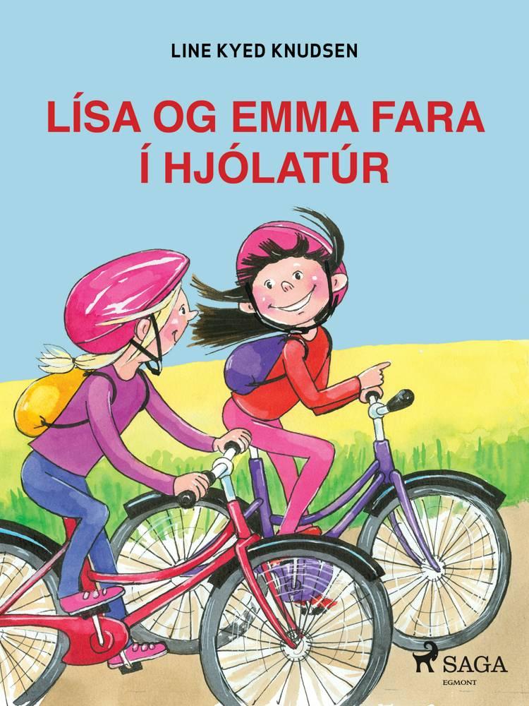 Lísa og Emma fara í hjólatúr af Line Kyed Knudsen