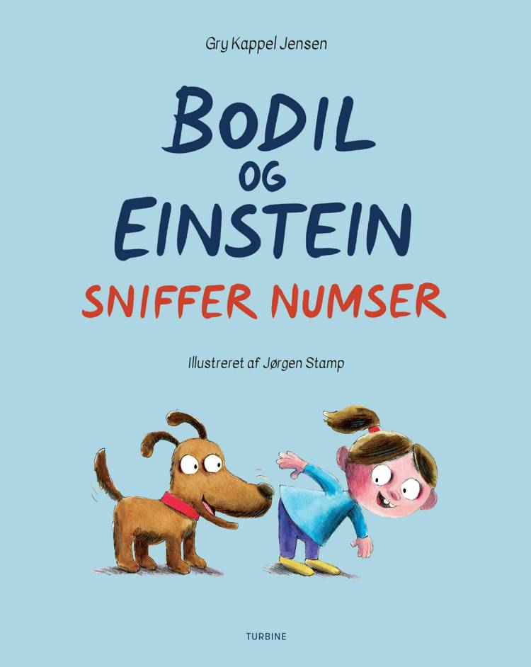 Bodil og Einstein sniffer numser af Gry Kappel Jensen