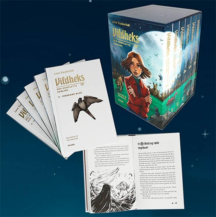 Vildheks - Den komplette samling (illustreret) (bog 1-6 i kassette) af Lene Kaaberbøl
