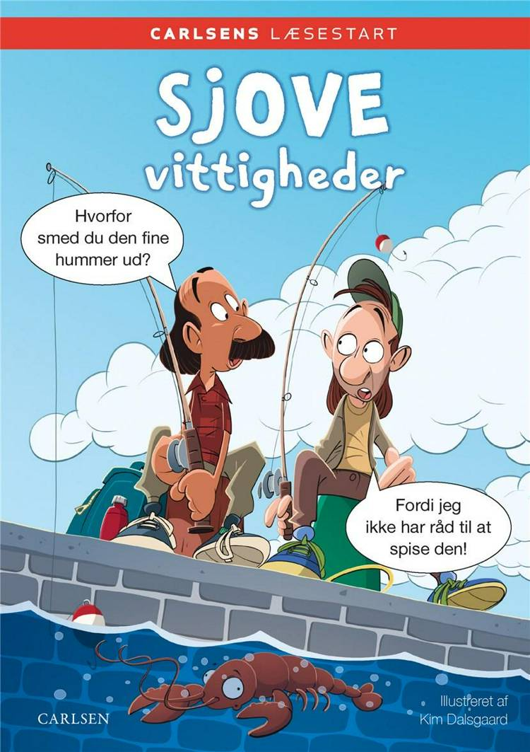 Carlsens Læsestart: Sjove vittigheder af Kim Dalsgaard