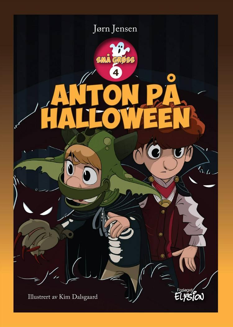 Anton på halloween af Jørn Jensen