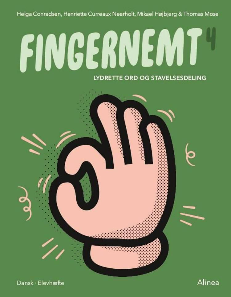 Fingernemt 4, Lydrette ord og stavelsesdeling af Thomas Mose, Mikael Højbjerg og Helga Conradsen m.fl.