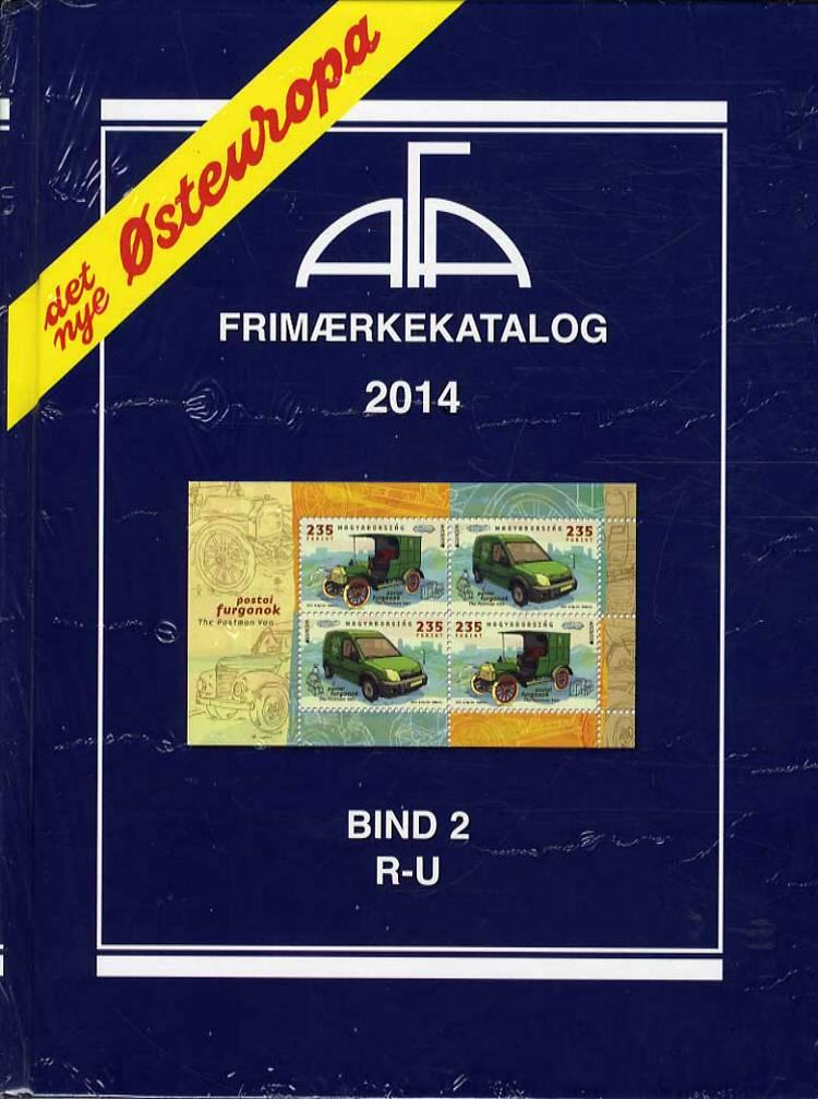 AFA Østeuropa frimærkekatalog: AFA Østeuropa 2014 Bind 2