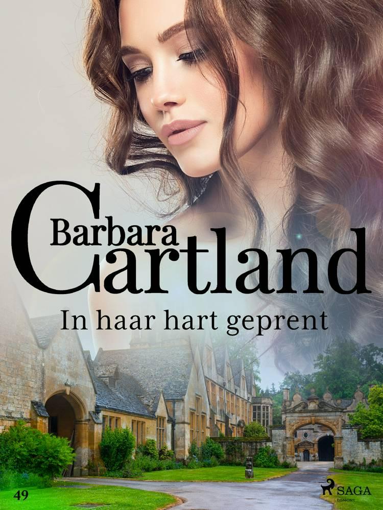 In haar hart geprent af Barbara Cartland